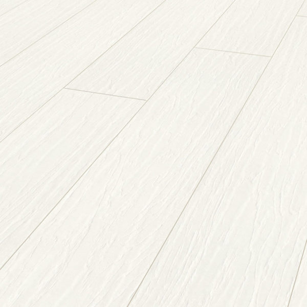 Vintage  White Lacquered Hickory