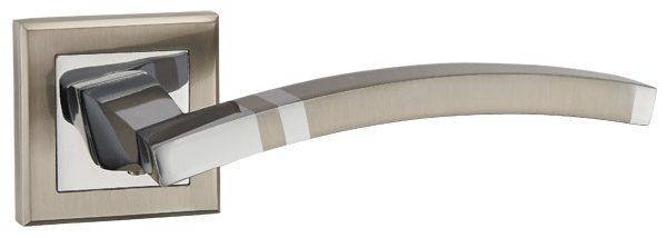Ручка раздельная NAVY QL SN/CP-3 матовый никель/хром
