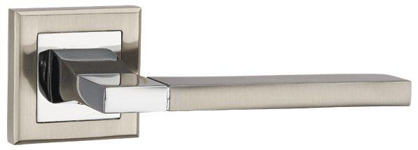 Ручка раздельная TECH QL SN/CP-3 матовый никель/хром