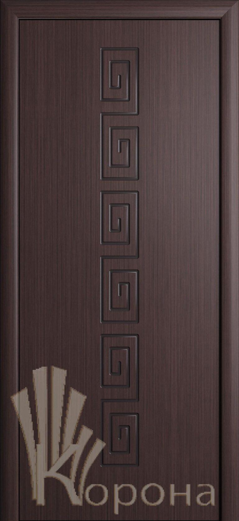 Дверь Греция ДГ венге