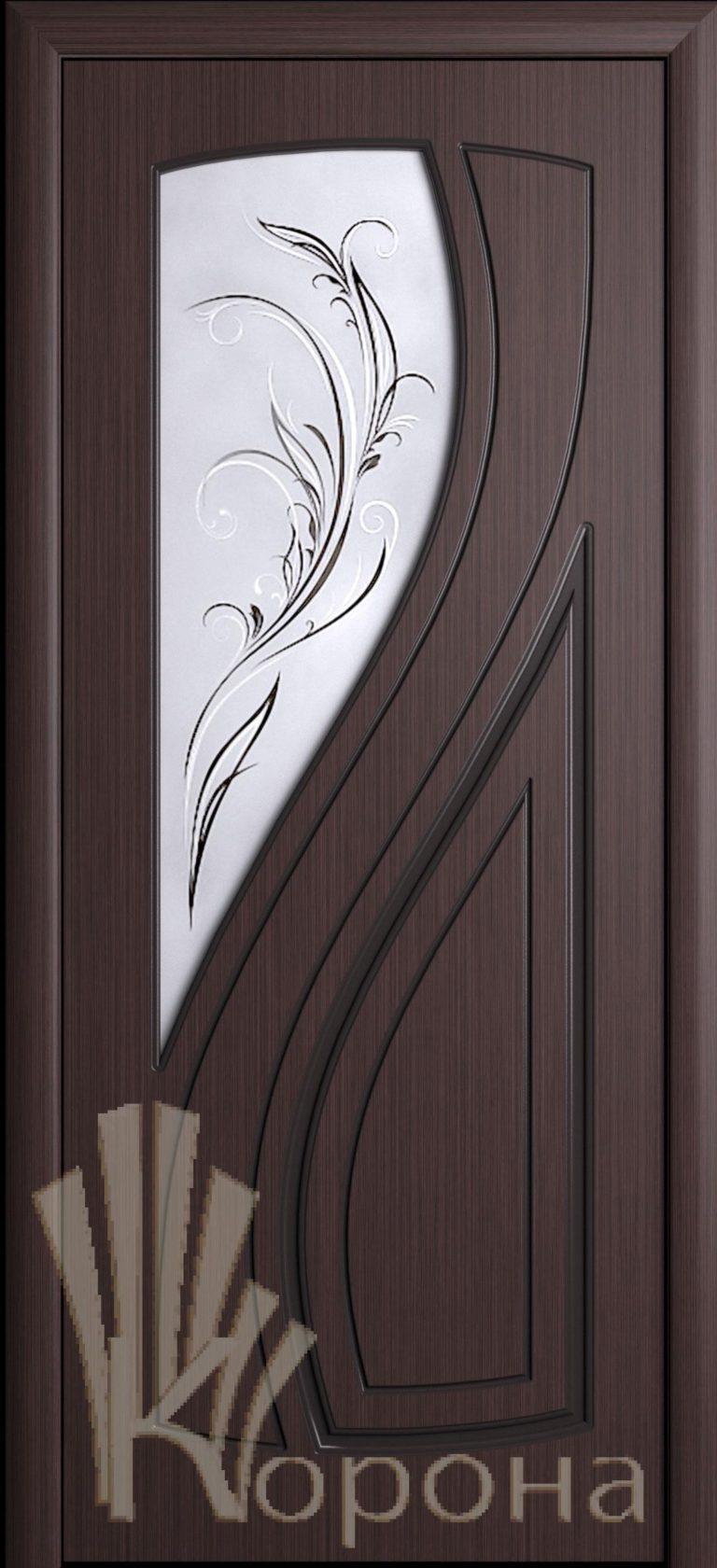 Дверь Лаура ДО венге