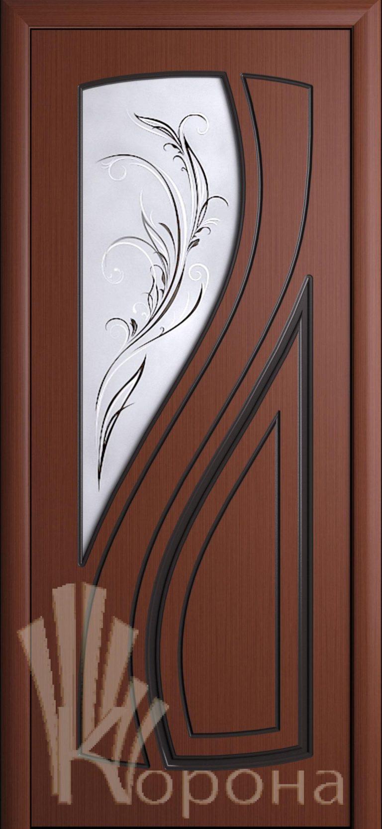 Дверь Лаура ДО шоколад
