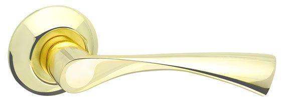 Ручка раздельная CLASSIC AR GP/SG-5 золото/матовое золото