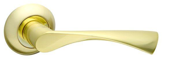 Ручка раздельная CLASSIC AR SG/GP-4 матовое золото/золото