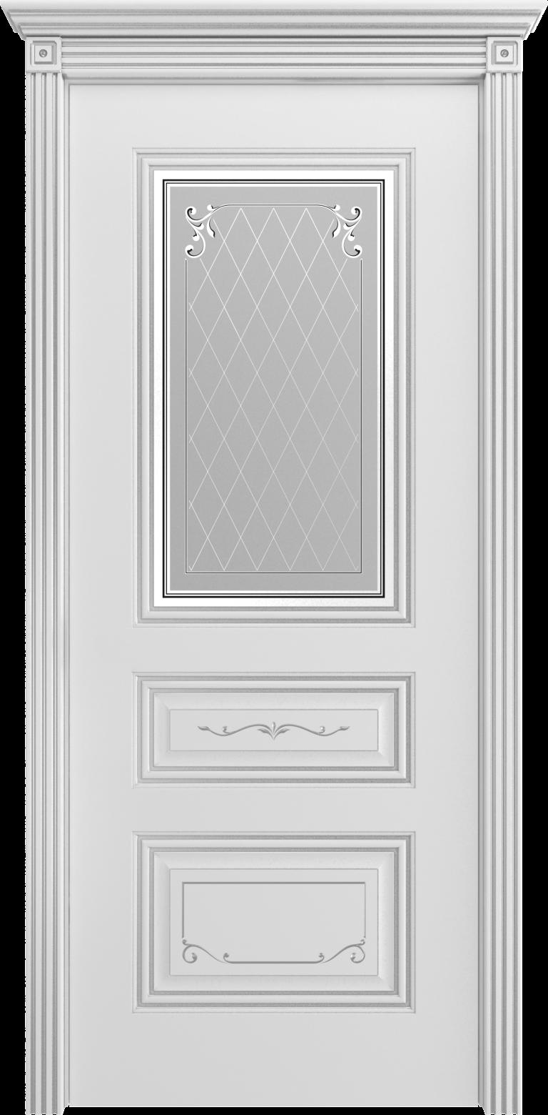 Межкомнатная дверь Cordondoor Трио Грейс В2