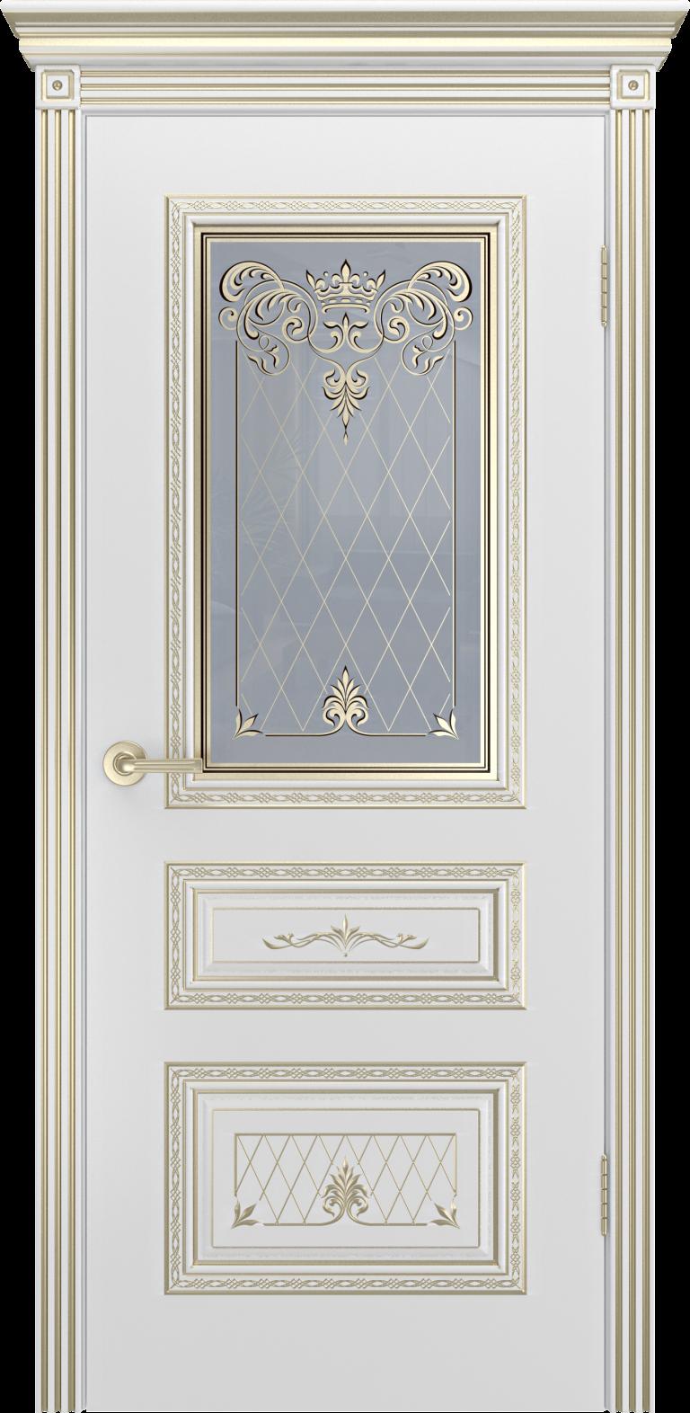 Межкомнатная дверь Cordondoor Трио Корона В3