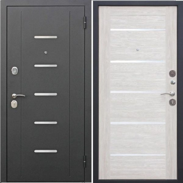 Входная дверь 7,5 см Гарда муар Лиственница Беж Царга